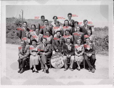 """Conscrits de Chabons, classe 1954, avec Anne Marie Vaudaine-2 <a target=""""_blank"""" href=""""http://padddy.fr/chabons-classe-1954-2/"""">>En savoir plus</a>"""